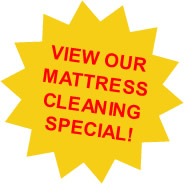 Mattress Cleaning Special